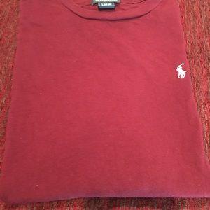 Polo burgundy T-shirt